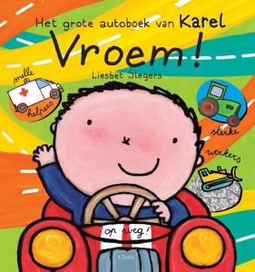 Vroem! Het grote autoboek van Karel Boek omslag