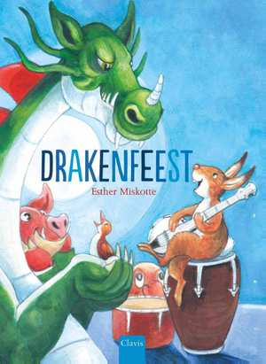 Drakenfeest Boek omslag