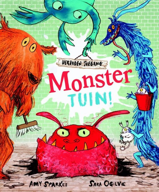 Monstertuin Book Cover