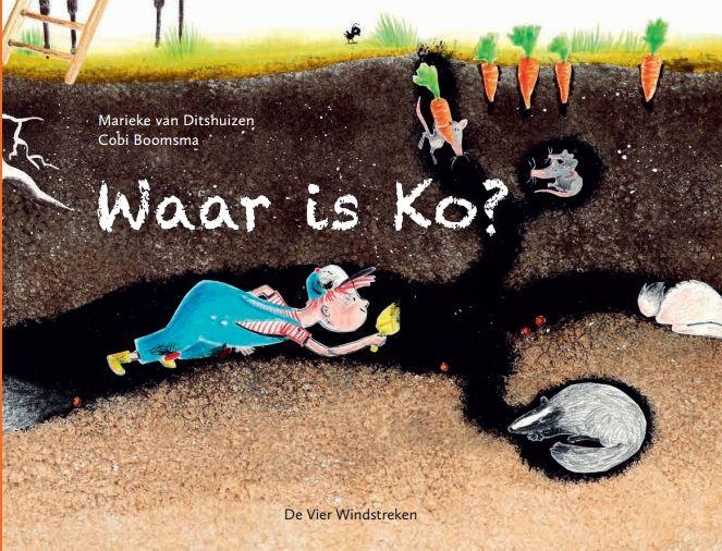 Waar is Ko? Boek omslag