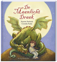 Maanlicht draak, de Boek omslag