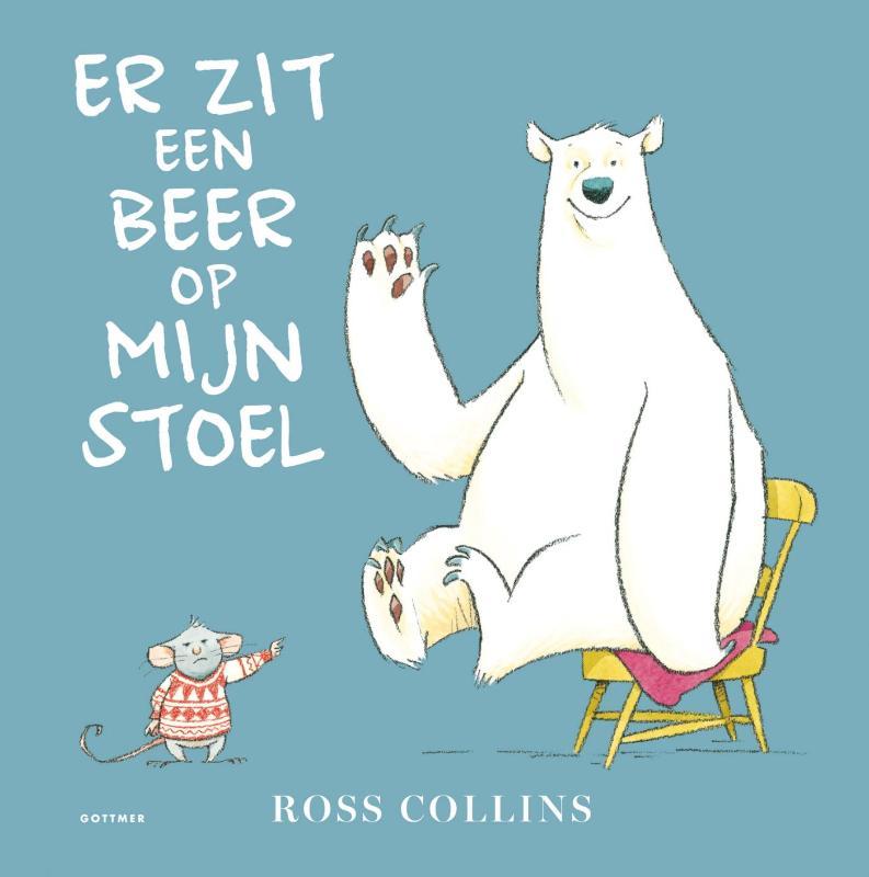 Er zit een beer op mijn stoel Boek omslag