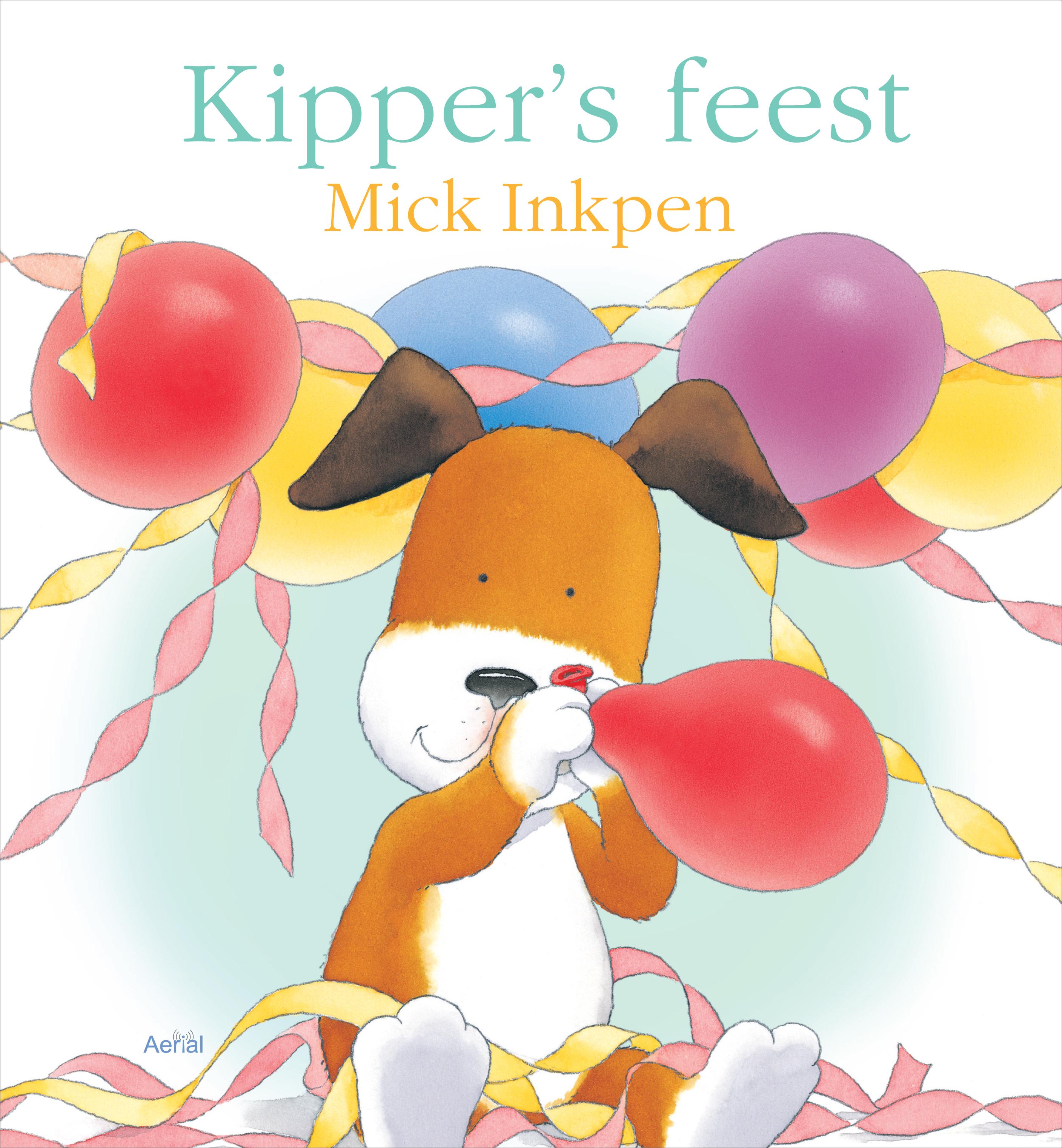 Kipper's feest Boek omslag