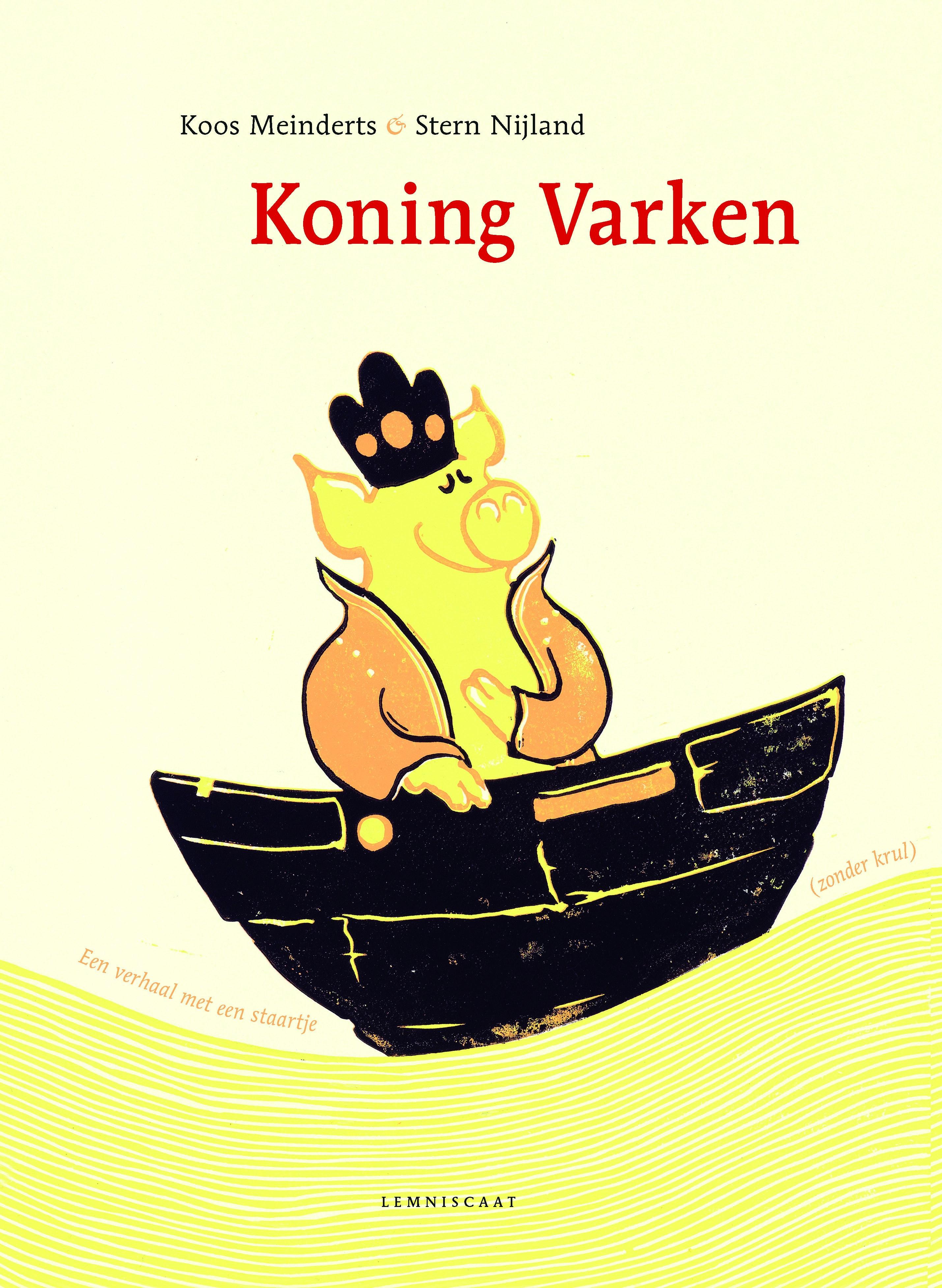 Koning varken Boek omslag