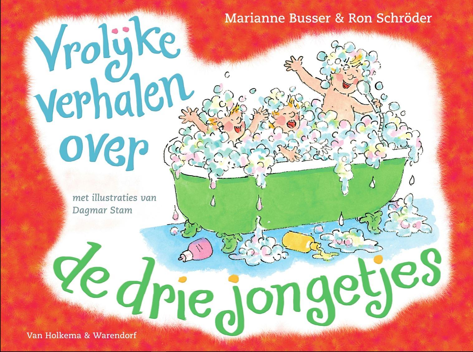 Vrolijke verhalen over de drie jongetjes Book Cover