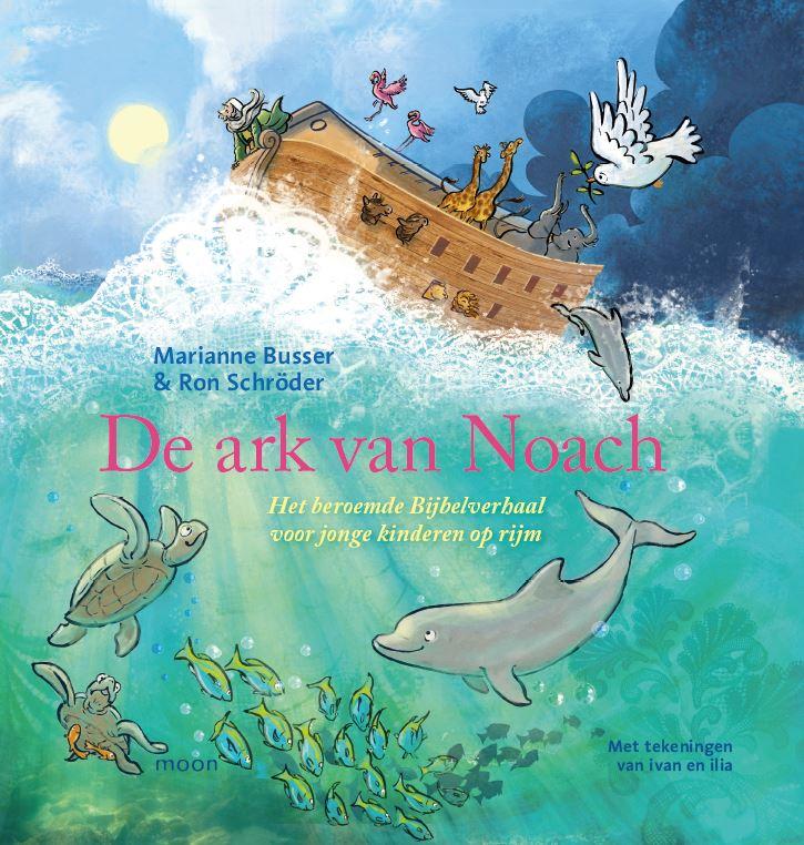 Ark van Noach, de Boek omslag