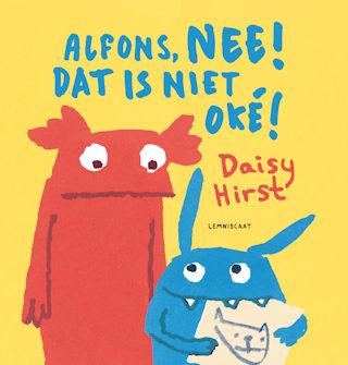 Alfons, Nee! Dat is niet oké! Boek omslag