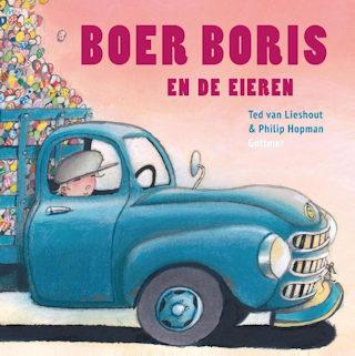 Boer Boris en de eieren Boek omslag