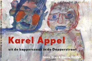 Karel Appel uit de kapperszaak in de Dapperstraat Boek omslag