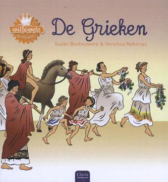 Willewete De Grieken Boek omslag