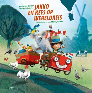 Jakko en Kees op wereldreis Boek omslag