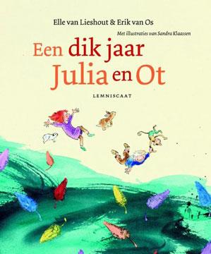 Dik jaar Julia en Ot, een Boek omslag