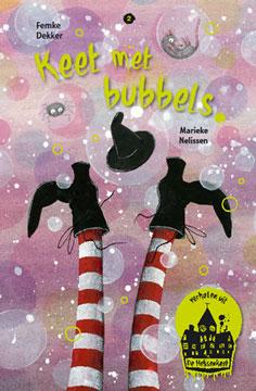 Keet met bubbels Boek omslag