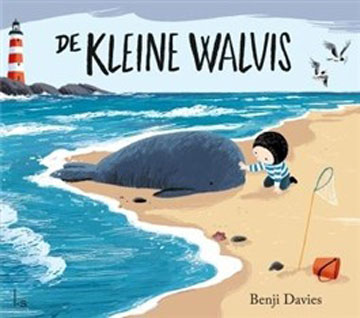 Kleine walvis, de Boek omslag