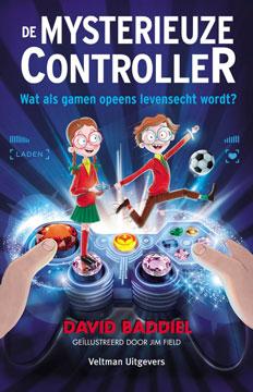 Mysterieuze controller, de Boek omslag