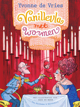 Vanillevla met wormen Book Cover