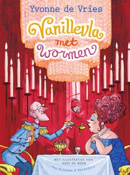 Vanillevla met wormen Book Cover