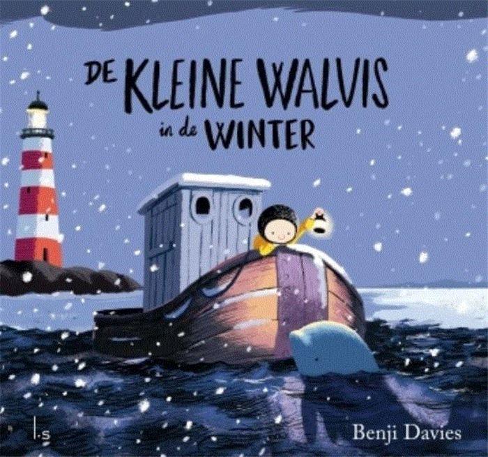 Lleine walvis in de winter, de Boek omslag