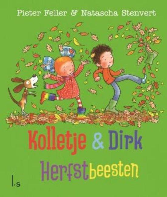 Kolletje en Dirk – Herfstbeesten Boek omslag