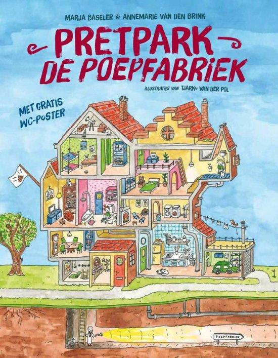 Pretpark De Poepfabriek Boek omslag