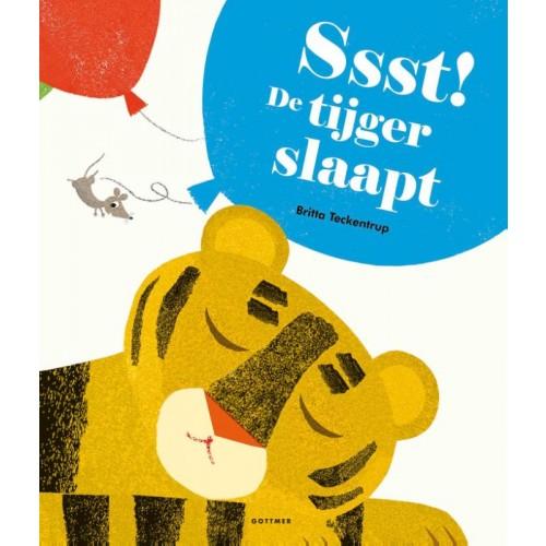 Ssst! De tijger slaapt Boek omslag