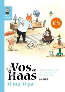 Vos en Haas / O ma! O Pa ! Book Cover