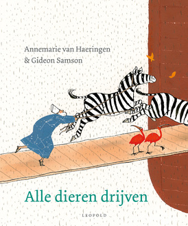 Alle dieren drijven Boek omslag