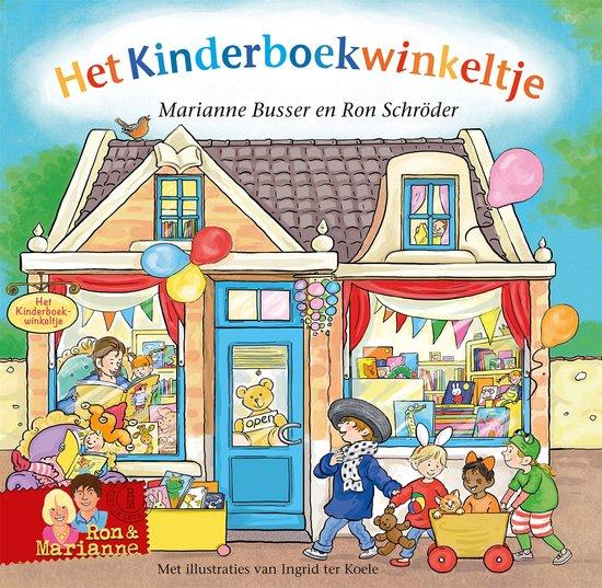 Kinderboekwinkeltje, het Boek omslag