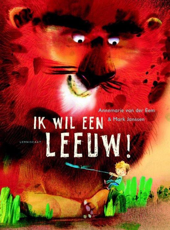 Ik wil een leeuw! Boek omslag