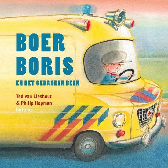 Boer Boris en het gebroken been Boek omslag
