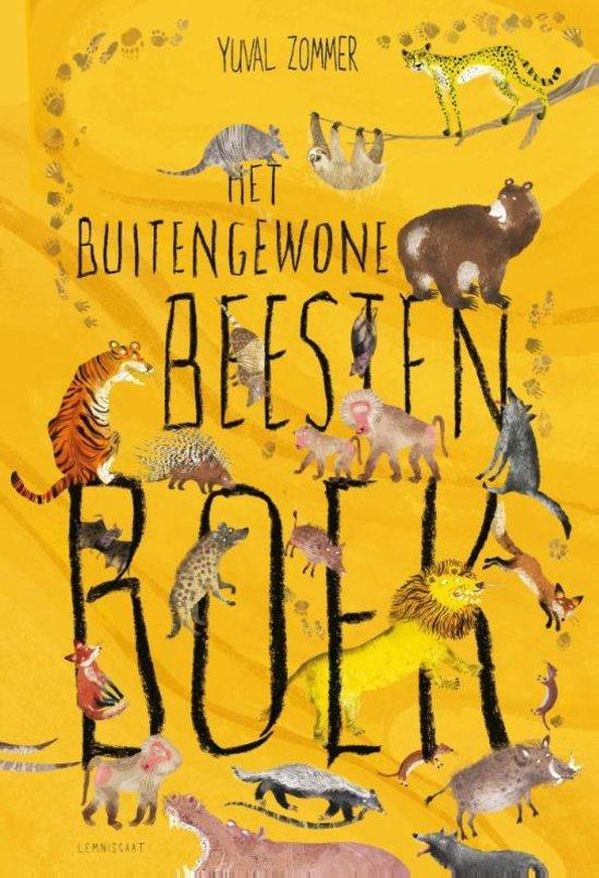 Buitengewone beesten boek, het Book Cover