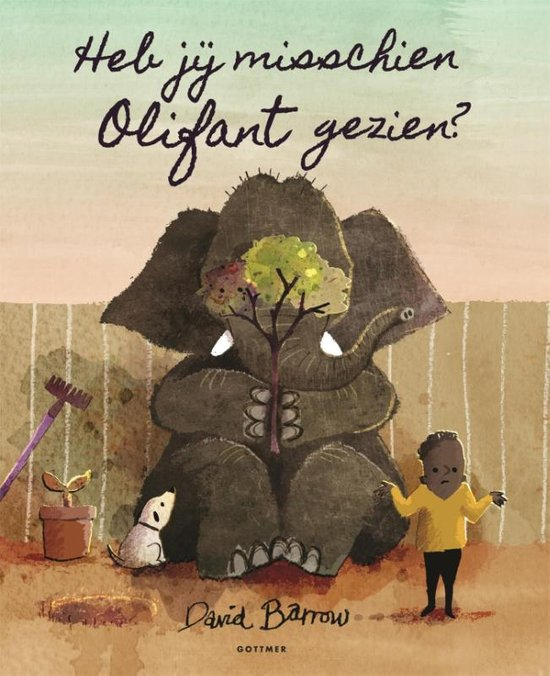 Heb jij misschien Olifant gezien? Boek omslag
