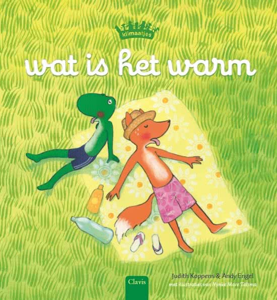 Klimaatjes – Wat is het hier warm Book Cover