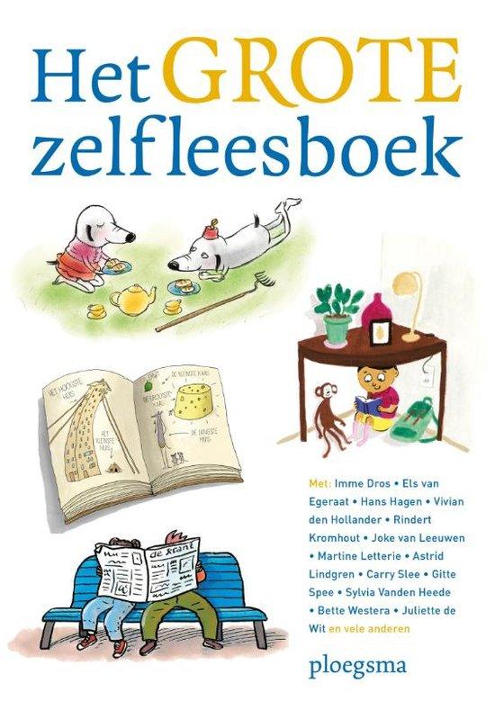Grote zelfleesboek, het Boek omslag