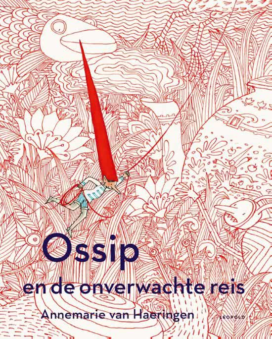 Ossip en de onverwachte reis Boek omslag