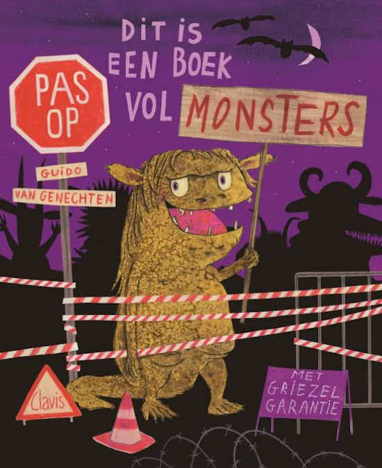 Dit is een boek vol monsters Boek omslag