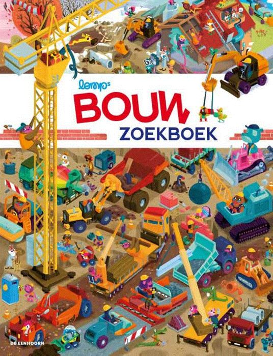 Bouw zoekboek Boek omslag