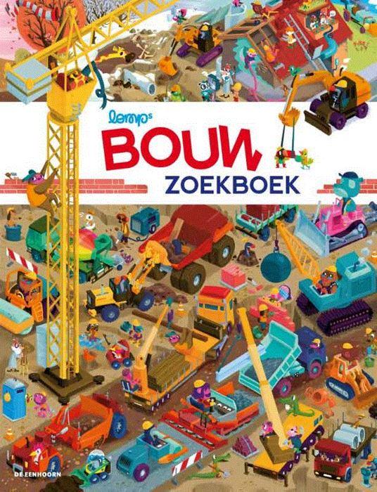 Bouw zoekboek Book Cover