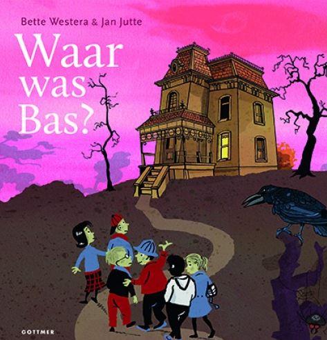 Waar was Bas? Boek omslag
