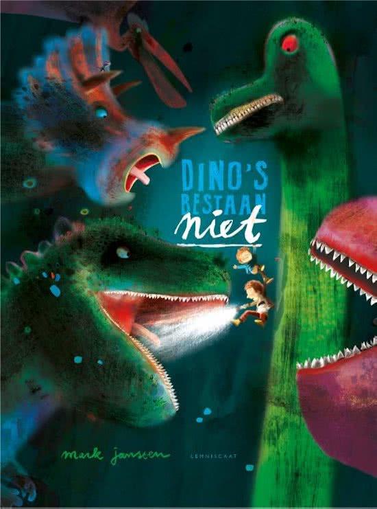 Dino's bestaan niet Boek omslag