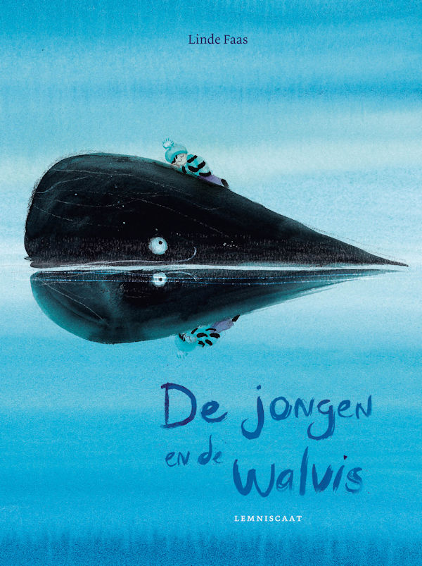 Jongen en de walvis, de Boek omslag