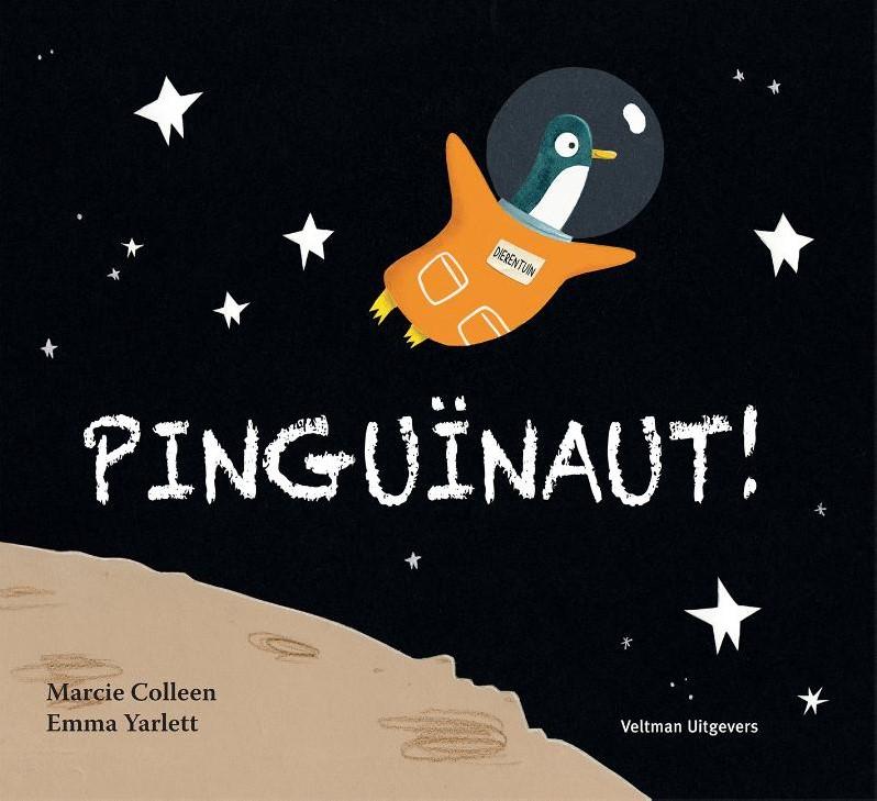 Pinguïnaut! Boek omslag