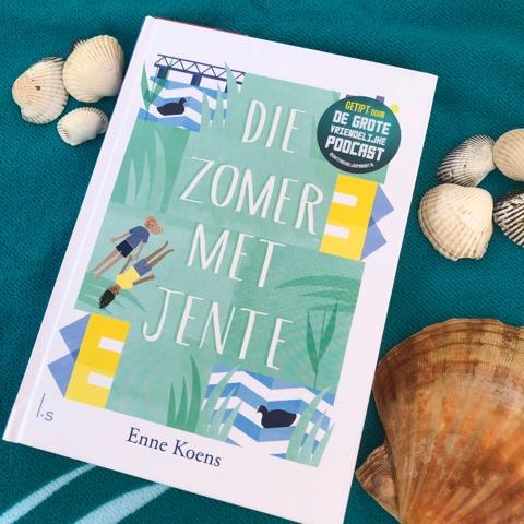 Die zomer met Jente Boek omslag