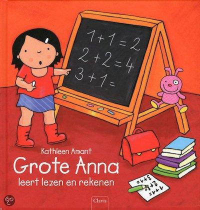 Grote Anna leert lezen en rekenen Boek omslag
