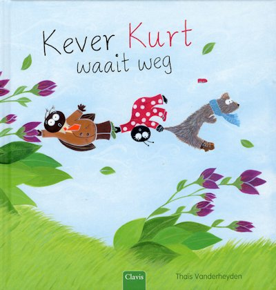 Kever Kurt waait weg Boek omslag