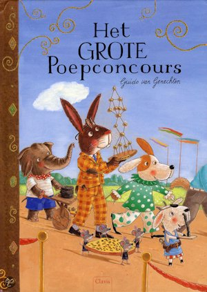 Grote poepconcours, het Book Cover