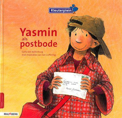 Yasmin als postbode Boek omslag
